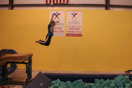 Motion Matrix Grants Pass Gymnastics Foam Pit